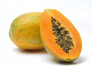 Papaya for eczema treatment